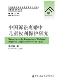 中国诉讼离婚中儿童权利保护研究