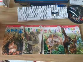 DK儿童目击者.开始阅读-第1级套装共4册