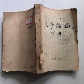 文学论稿 下册