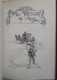 《瓷器谚语》1893年英国诗人奥斯汀·杜勃生歌谣集装帧精美插画本