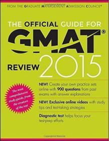 The Official Guide for GMAT Review 2015 with Online Question Ban
