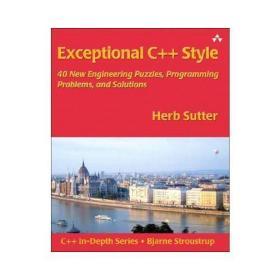 【预订】Exceptional C++ Style: 40 New Engineering Puzzles, Programmi
