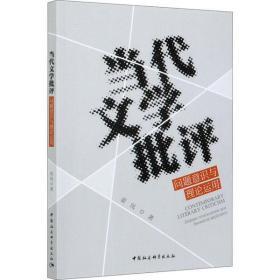 (正版新书)当代文学批评 问题意识与理论运用姜岚9787520376013中国社会科学出版社