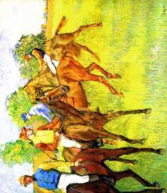 德加绘画油画图集格式 复制品 可以装裱6931A