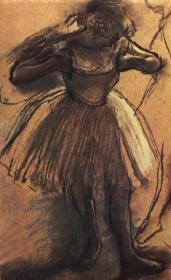 德加绘画油画图集格式 复制品 可以装裱C1363