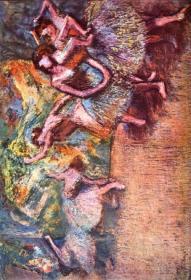 德加绘画油画图集格式 复制品 可以装裱8635F