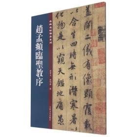 名碑名帖傳承系列--赵孟頫临圣教序