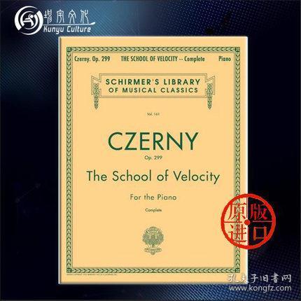 School of Velocity, Op. 299 (Complete):Piano Technique