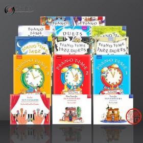 钢琴时间 小套装14册 英皇考级教材 牛津原版乐谱畅销书 Pauline Hall Piano Time Tunes