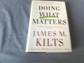 英文原版书  Doing What Matters