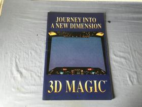 英文原版书  Journey Into a Dimension 3d Magic