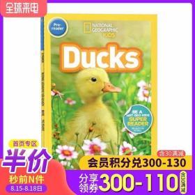 英文原版绘本 National Geographic Kids Readers: Ducks 鸭子 美