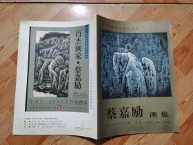 B105蔡嘉励画集(97中国画坛百杰画家)