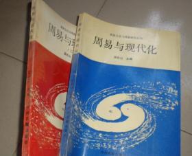 殷商文化与周易研究丛刊:周易与现代化(一 二)2册合售:书架6