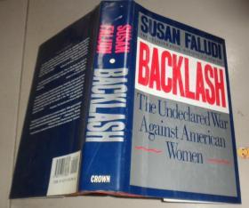 Backlash:The Undeclared War Against American Women《反挫:谁与女人为敌?》【英文原版,苏珊·法露迪著作】:B4架顶