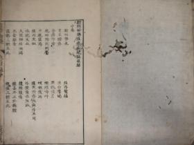 和刻本《新刻秘传痘疹全镜录》中下卷2册,信州翁仲仁辑著,享保17年据明医书翻刻
