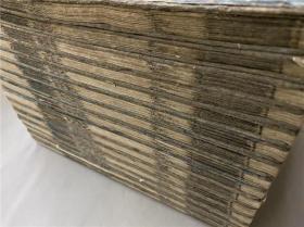 和刻本《春秋左氏传》30卷15册全,系江户早期覆刻古活字本,无刊记。书中批注较多,有采自正义等。