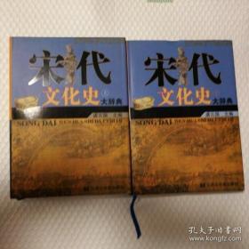 宋代文化史大辞典(全两册)(未拆封)