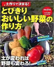 日文原版书  土作りで決まる!とびきりおいしい野菜の作り方 (ブティック・ムックno.995)  藤依里子 (著)