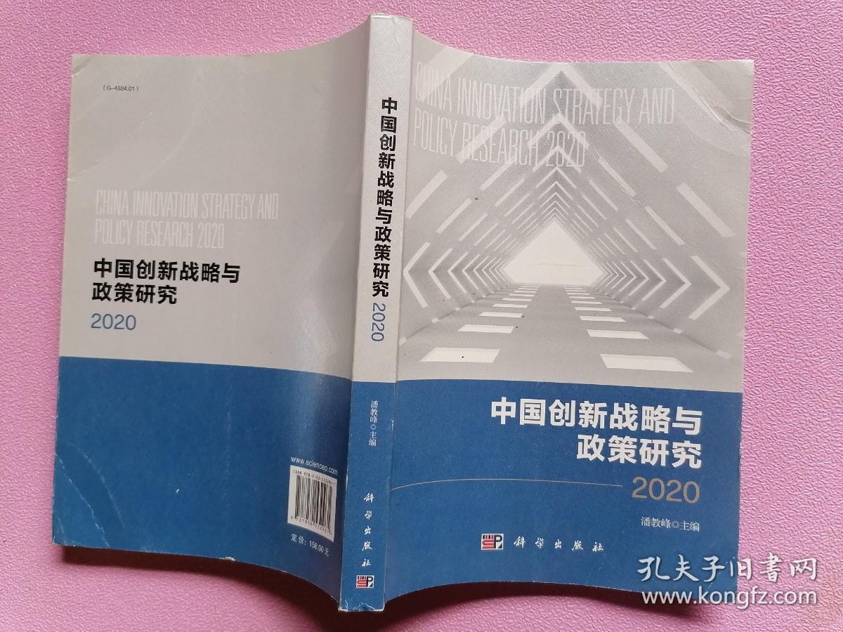 中国创新战略与政策研究2020