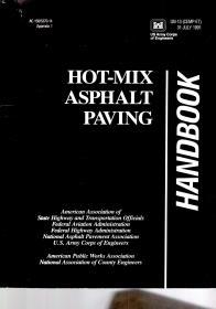 HOT—MIX ASPHALT PAVING HANDBOOK.详看书影.有必要可提供照片