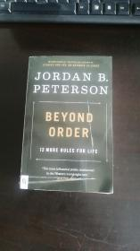 秩序之上 人生十二法则作者 Beyond Order: 12 More Rules for Life 乔丹·彼得森 Jordan B. Peterson 个人管理