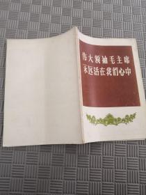 伟大领袖毛主席永远活在我们心中 四川省新闻图片社