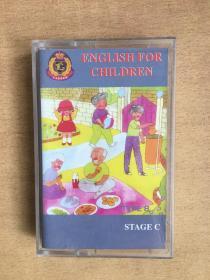 磁带:ENGLISH FOR CHILDREN
