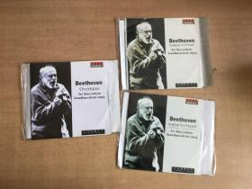 贝多芬: 序曲集,第六交响曲 田园 ,第九交响曲 合唱(三碟合售)CD