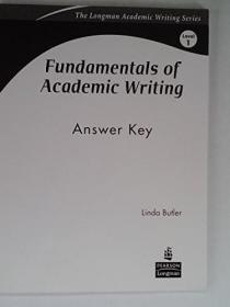 Fundamentals of Academic Writing: Level 1, 3Answer Key
