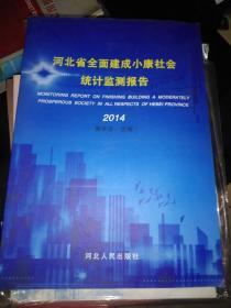 河北省全面建成小康社会统计监测报告 2014