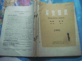 昆虫知识1991年第28卷第1.2.3.4.5.6期