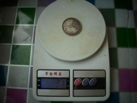2011年生肖兔10元银币!999纯银31克!