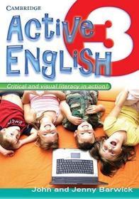 Active English 3 /Barwick  John/ Barwick  Jenny Cambridge Un