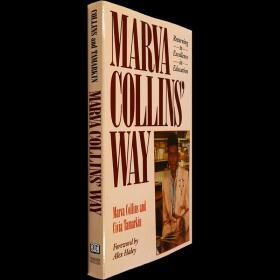 英文原版马文柯林斯的教育方法柯林斯之路Marva Collins' Way
