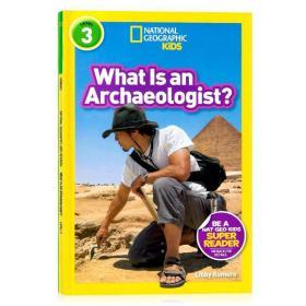 进口英文 美国国家地理 考古学家National Geographi