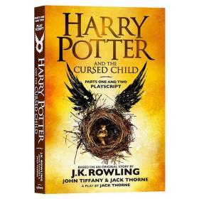 哈利波特8 哈利波特与被诅咒的孩子 英文 Harry Potter and t