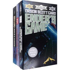 英文原版安德的游戏系列Ender's Game Series三部曲合售?