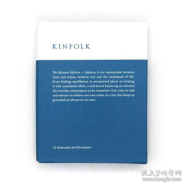 Kinfolk Notecards - The Balance Edition