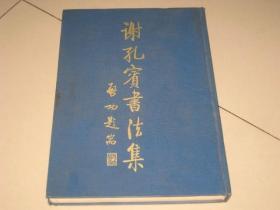 《谢孔宾书法集》(8开,硬精装,252页)