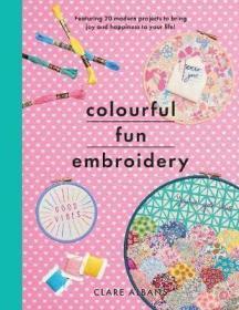 预订 Colourful Fun Embroidery 五彩缤纷的刺绣,英文原版
