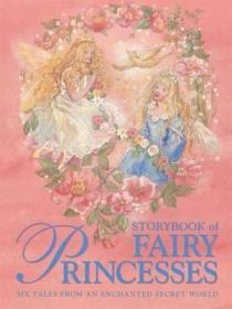 预订 Storybook of Fairy Princesses 仙子公主故事书,英文原版