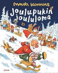 预订 Joulupukin joululoma 圣诞老人的圣诞礼物,毛里·库纳斯作品,芬兰语原版