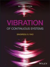 预订 Vibration of Continuous Systems连续系统振动,第2版,英文原版
