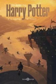 预订 Harry Potter e il Calice di Fuoco 哈利波特与火焰杯,J·K·罗琳作品,意大利语原版