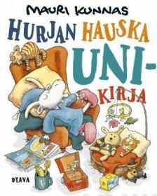 预订 Hurjan hauska unikirja 一本有趣的书,毛里·库纳斯作品,芬兰语原版