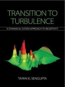 预订 Transition to Turbulence : A Dynamical System Approach to Receptivity 湍流转捩:感受性动力系统方法,英文原版