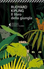 预订 Il libro della giungla丛林之书,诺贝尔文学奖得主、鲁德亚德·吉卜林作品,意大利语原版