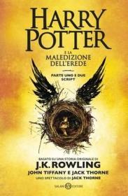 预订 Harry Potter e la Maledizione dell'Erede 哈利波特与被诅咒的孩子,意大利语原版