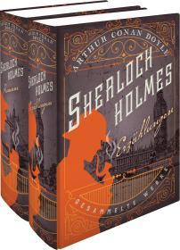 预订 Sherlock Holmes - Erzählungen - Gesammelte Werke (2 Bände): Erzählungen & Romane 福尔摩斯系列:故事与小说,2卷套,亚瑟·柯南·道尔爵士作品,德文原版